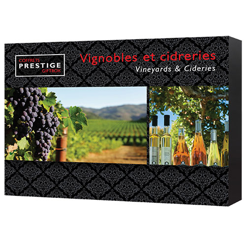 Cliquez ici pour acheter Vineyards & Cideries Giftbox (Quebec)