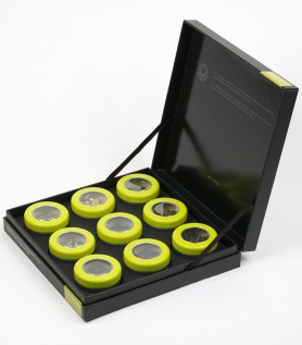 9 tea tasting kit