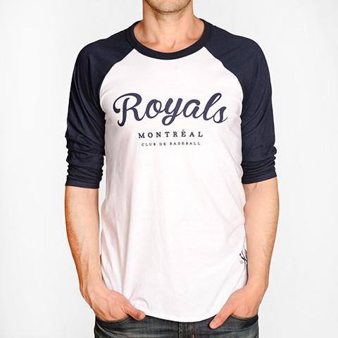 Cliquez ici pour acheter Montreal Royals Raglan