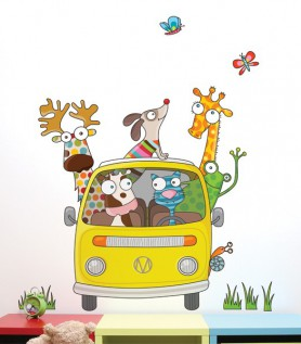 On the Road Wall Decal