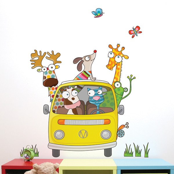 Cliquez ici pour acheter On the Road Wall Decal