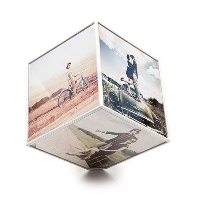 Cliquez ici pour acheter Kube Photo Frame 4″ by 4″