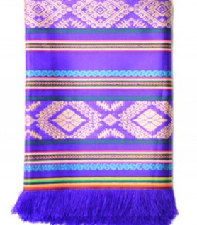 Tablecloth Ecuador, Purple