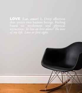 Love Wall Decal