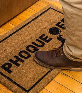 Phoque Off Door Mat