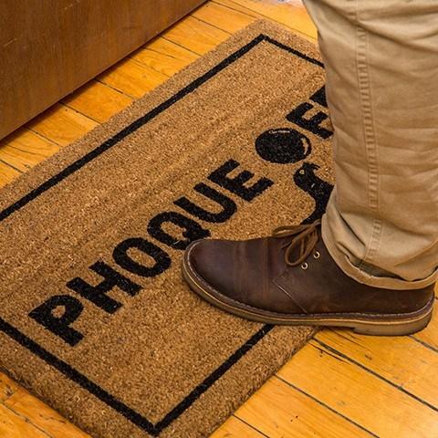 Cliquez ici pour acheter Phoque Off Door Mat