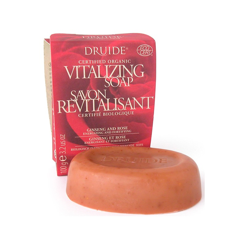 Cliquez ici pour acheter Revitalizing Soap Ginseng and Rose