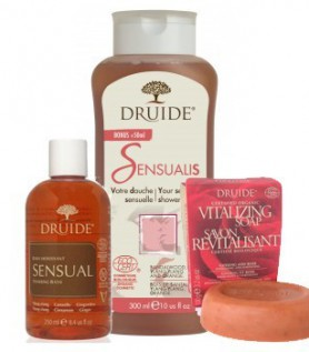 Sensual Kit for Shower and Bath