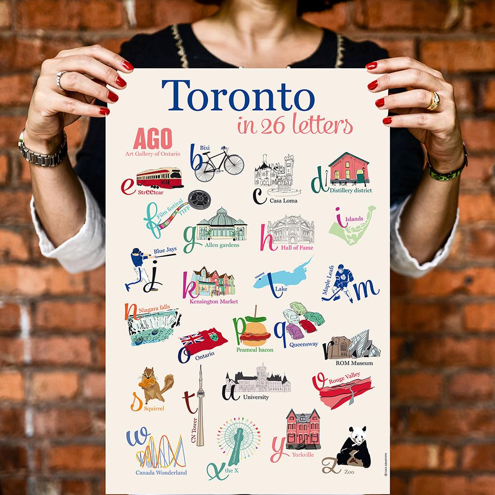 Cliquez ici pour acheter Toronto in 26 Letters