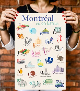 Montreal in 26 Letters