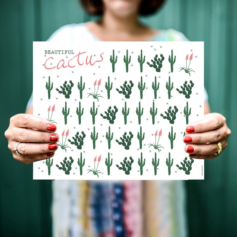 Cliquez ici pour acheter Multiple Cacti Poster