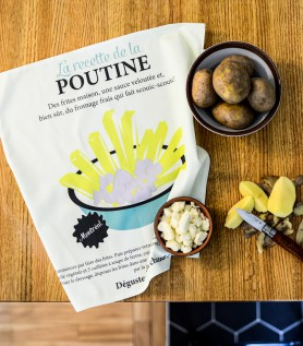 Poutine Dishcloth