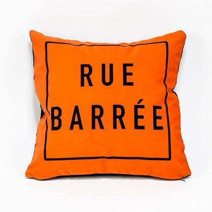 Cliquez ici pour acheter Rue Barrée Pillow