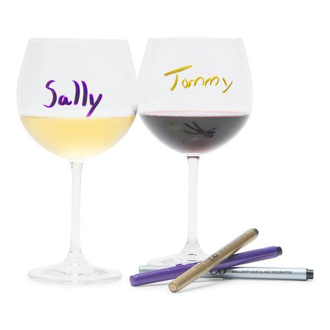 Cliquez ici pour acheter Wine Glass Decorators