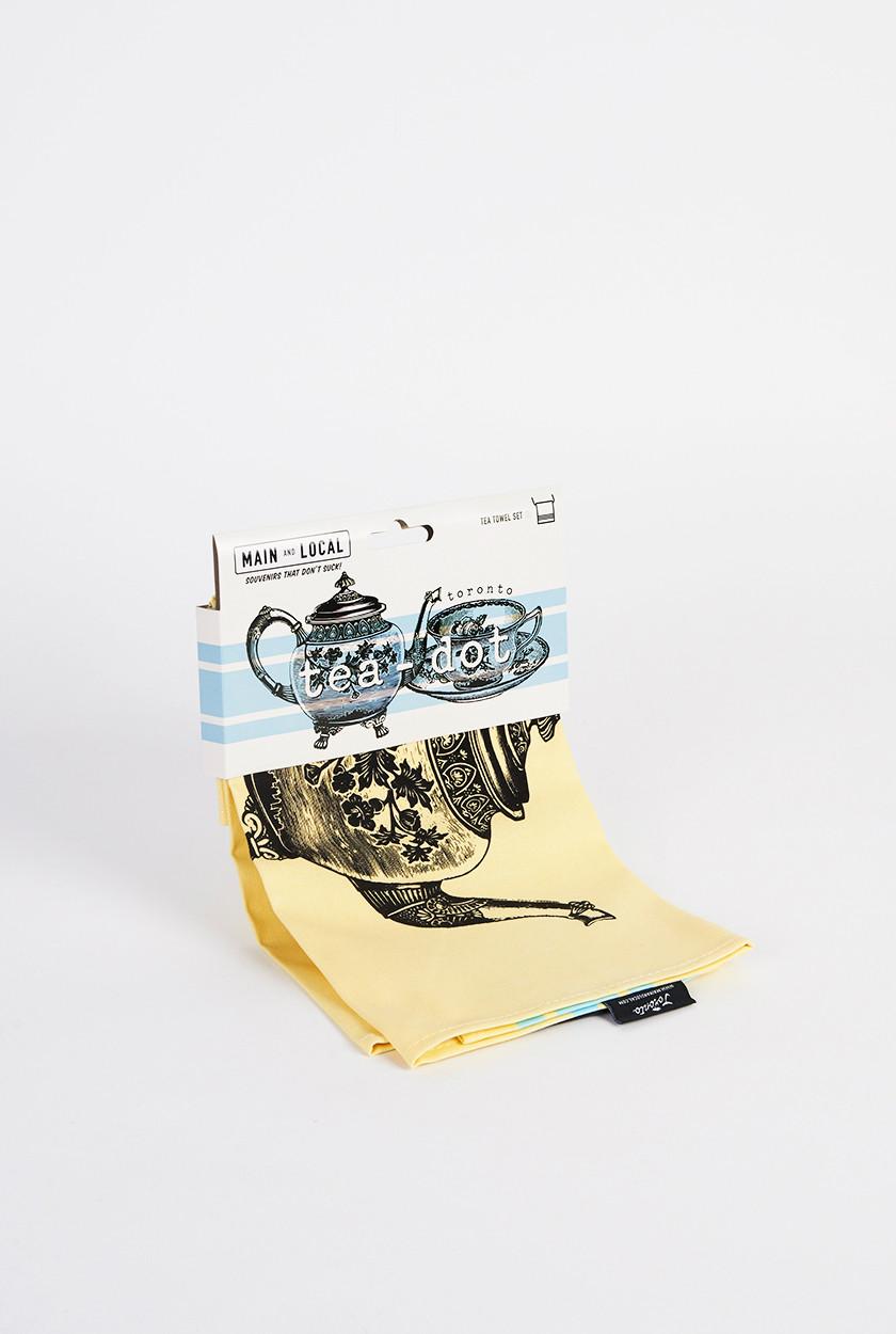 Cliquez ici pour acheter Tea Dot Towel Set