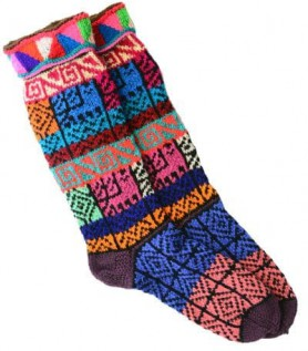 Multicolour Wool Socks