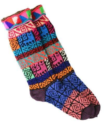 Cliquez ici pour acheter Multicolour Wool Socks