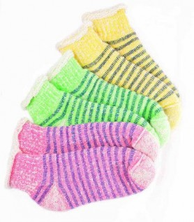 Colourful Thermal Alpaca Slipper Socks