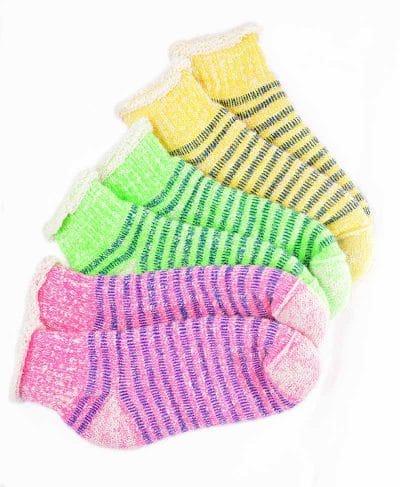 Cliquez ici pour acheter Colourful Thermal Alpaca Slipper Socks