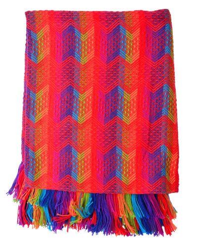 Cliquez ici pour acheter Multicolour Alpaca Blanket