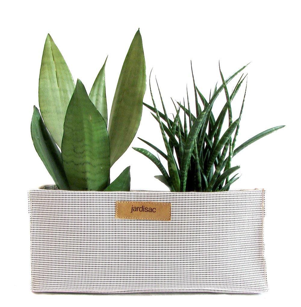 Cliquez ici pour acheter White rectangular planter