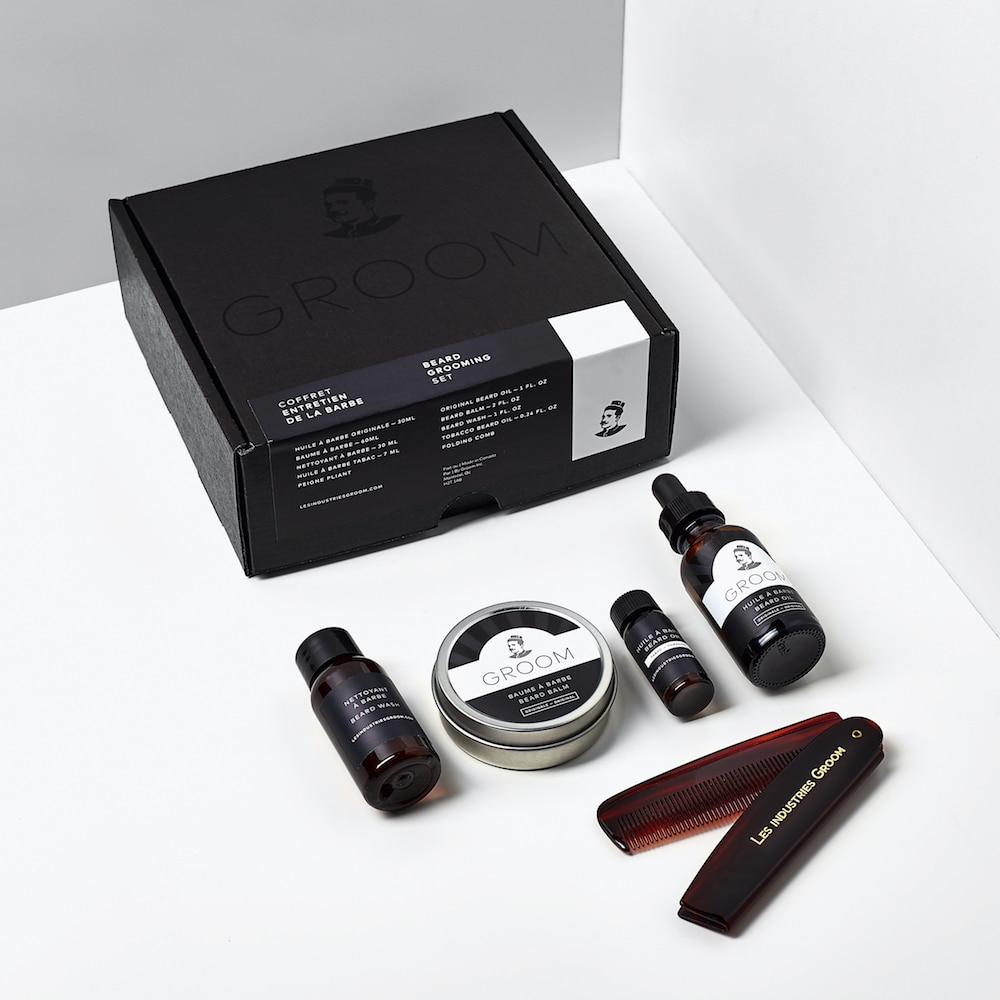 Cliquez ici pour acheter Beard Grooming Set
