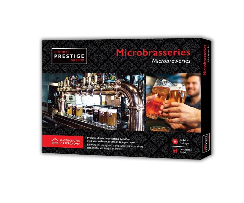 Cliquez ici pour acheter Coffrets Prestige: Microbreweries Giftbox