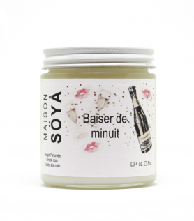Midnight Kiss- 100% Soy Wax Candle