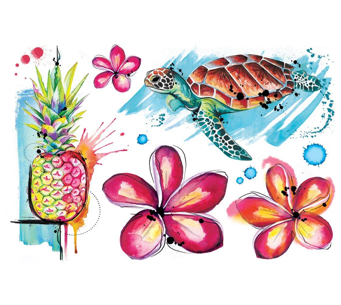 Cliquez ici pour acheter Hawaii Temporary Tattoos by Julie L'Ecuyer