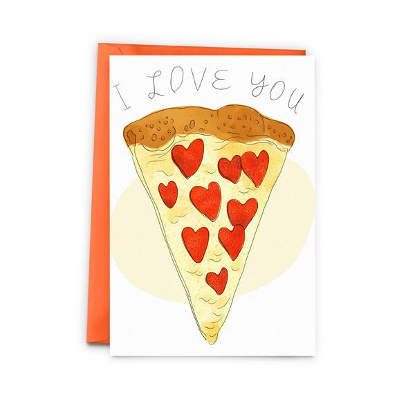 Cliquez ici pour acheter Pizza Love Card