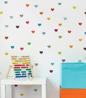 Little Hearts Wall Decal