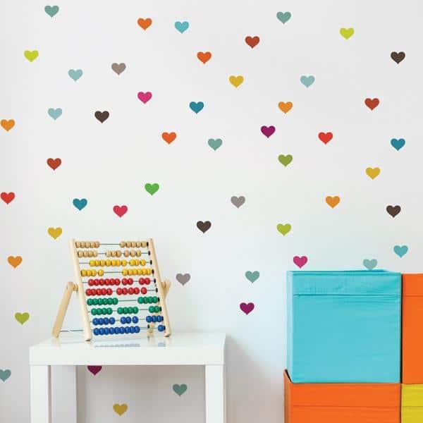 Cliquez ici pour acheter Little Hearts Wall Decal