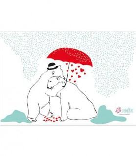 Love Bear Card