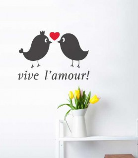 Vive L'Amour Wall Decal