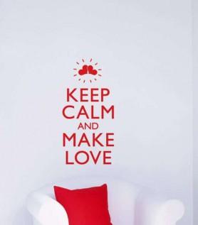 Make Love Wall Decal