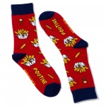 Click here to enlarge the image!poutine-socks