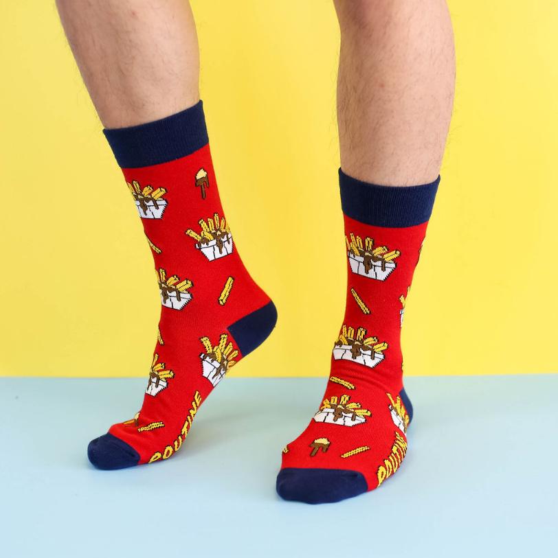 Cliquez ici pour acheter Poutine Socks