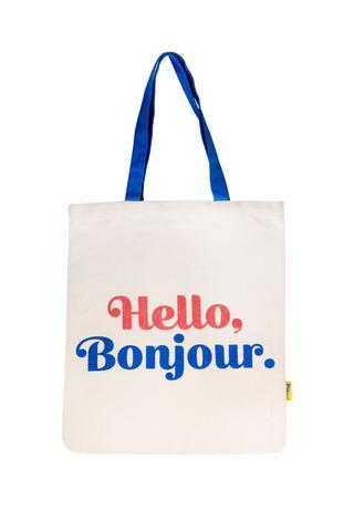 Cliquez ici pour acheter Tote bag – Hello Bonjour