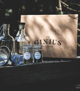 DIY Gin Kit – Ginius – Boom:Bay Flavor
