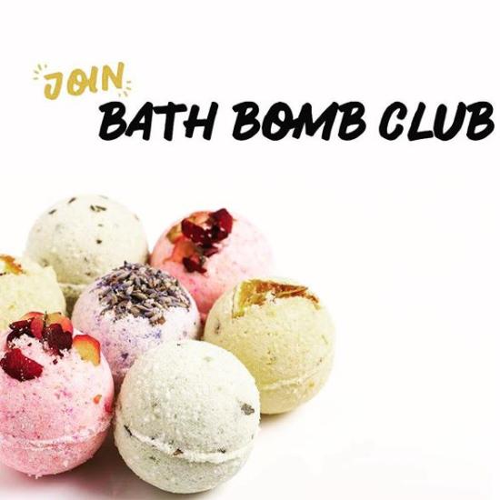 Cliquez ici pour acheter Monthly Bath Bomb Club