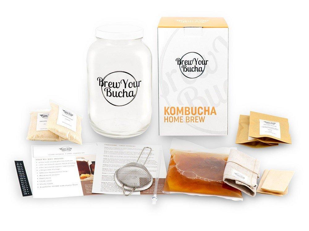 Cliquez ici pour acheter DIY Kit – Brew Your Own Kombucha!