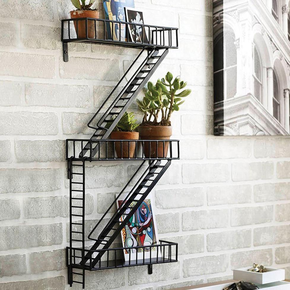 Cliquez ici pour acheter Fire escape shelf