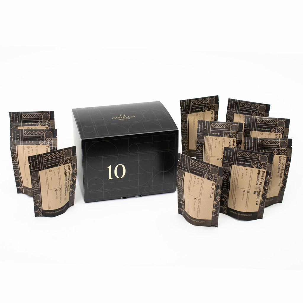 Cliquez ici pour acheter 10 High-Quality Teas Discovery Gift Set
