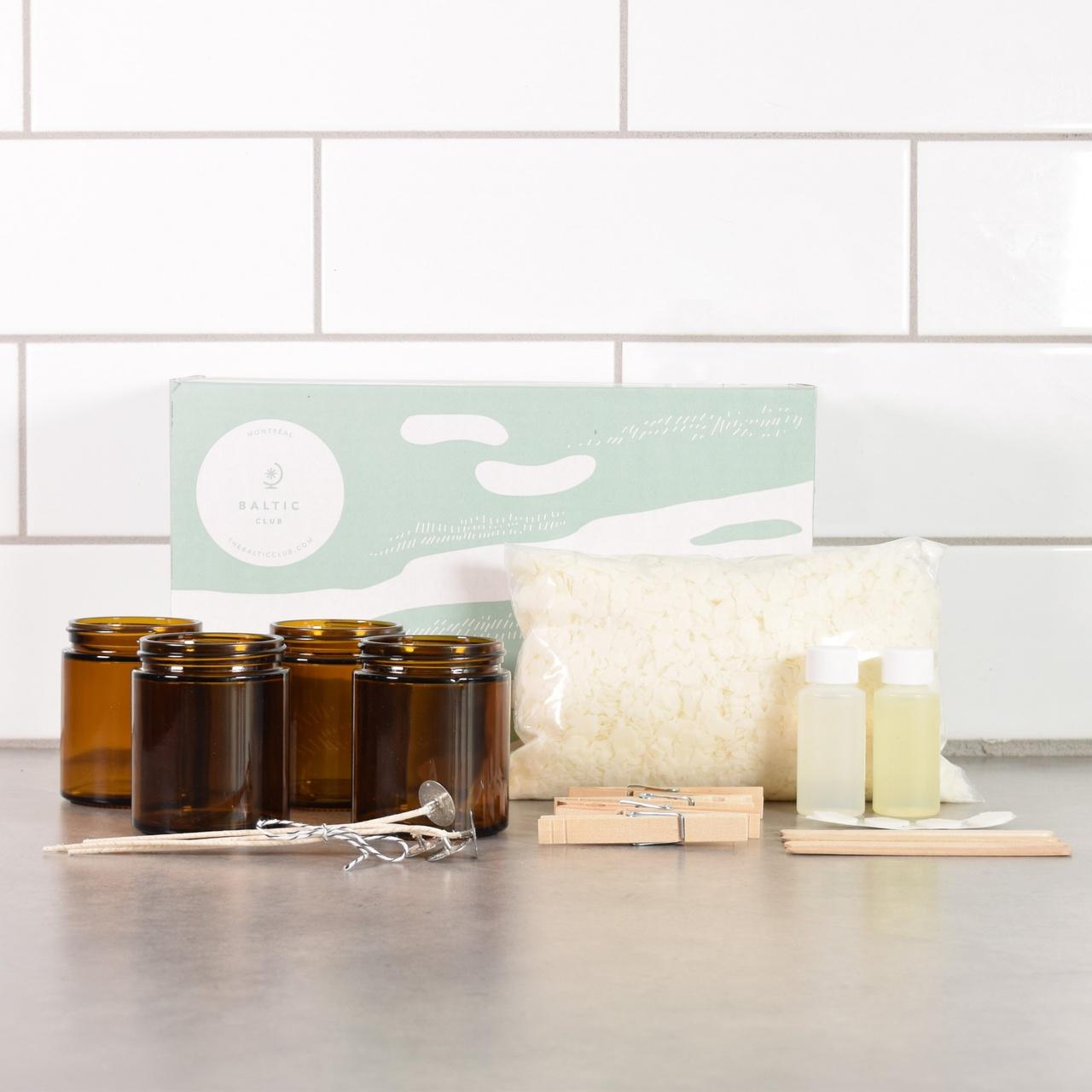 Cliquez ici pour acheter Soy wax candle DIY kit