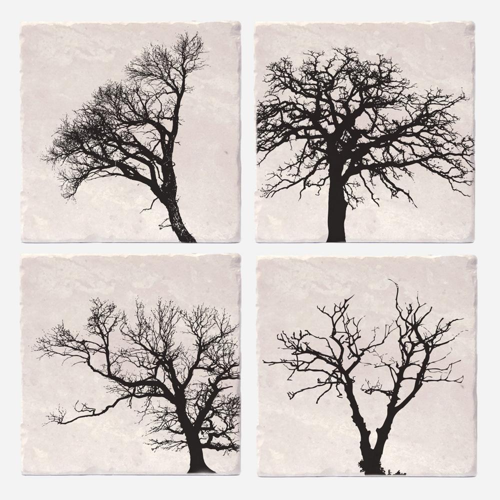 Cliquez ici pour acheter Coasters set trees of life