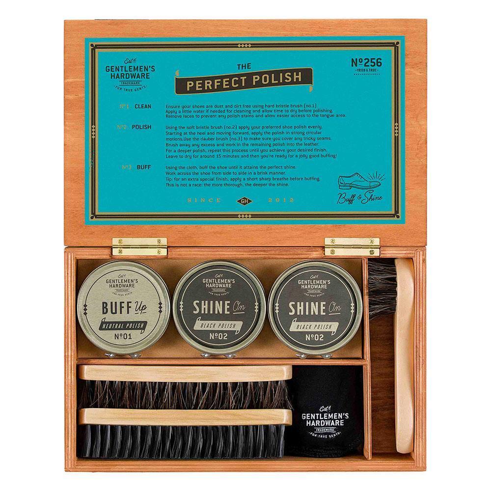 Cliquez ici pour acheter Shoe shine cigar box
