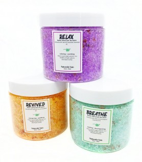 Set of 3 bath salts