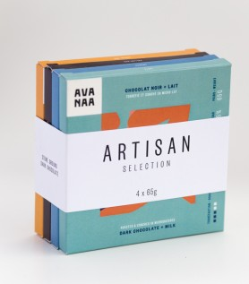 Fine chocolate gift set – Artisan (x4)