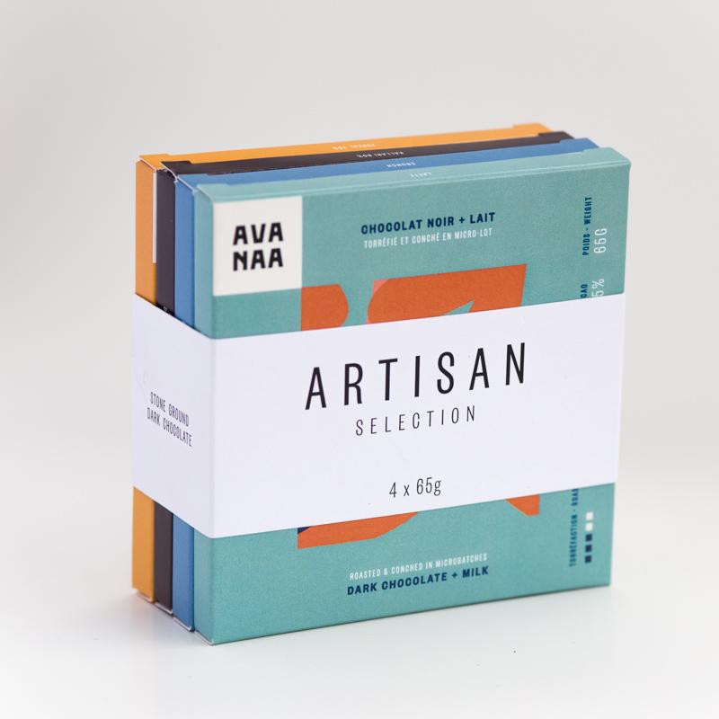 Cliquez ici pour acheter Fine chocolate gift set – Artisan (x4)