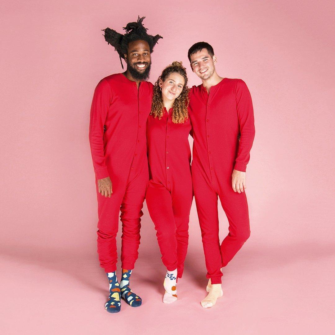 Cliquez ici pour acheter Red Onesie for adults